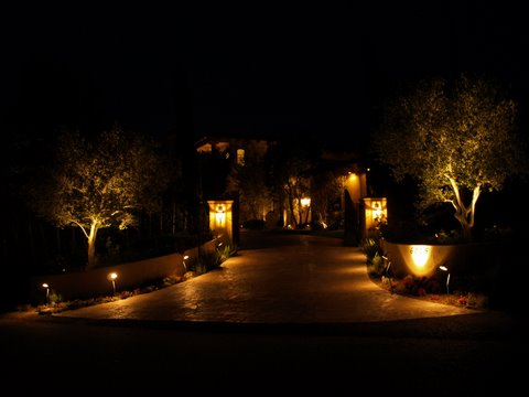 simi valley outdoor lighting illuminating exterior lighitng
